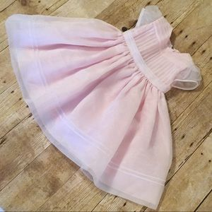 Baby Girl Formal Dress 12 Months EUC